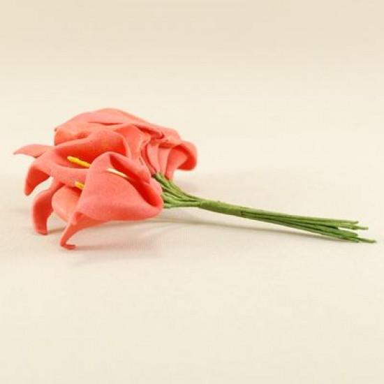 Gala Çiçeği Kırmızı Lateks Büyük Boy 10 Adet