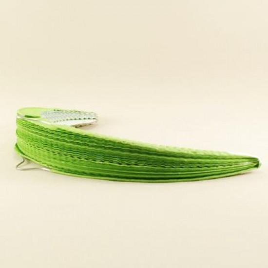 Yeşil Renkli Yuvarlak Kağıt Parti Feneri