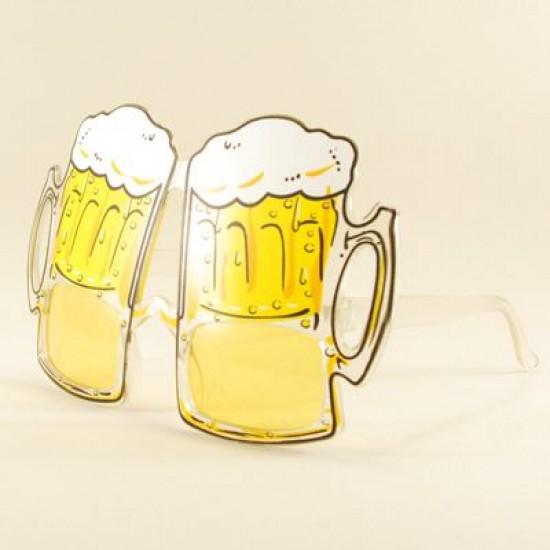 Büyük Boy Bira Bardağı Parti Gözlüğü