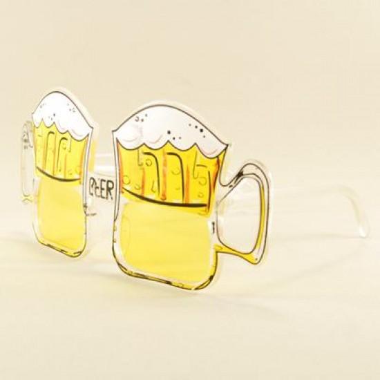Küçük Boy Bira Bardağı Parti Gözlüğü
