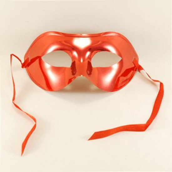 Parlak Kırmızı Maske