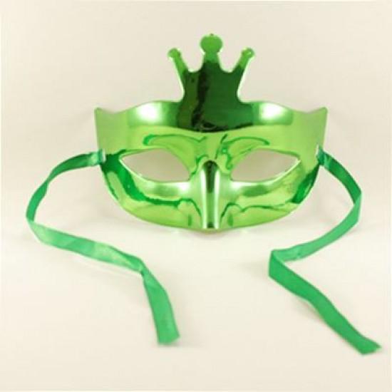 Yeşil Renkli Taçlı Maske