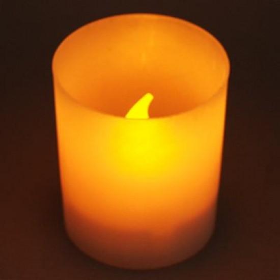 Pilli Mum Alevsiz Mum Işığı