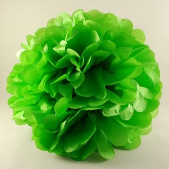 Yeşil Renkli Ponpon