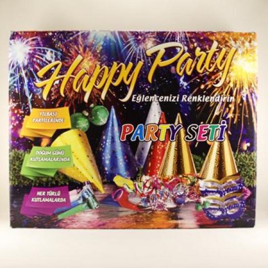 Happy Parti Paket Parti Seti