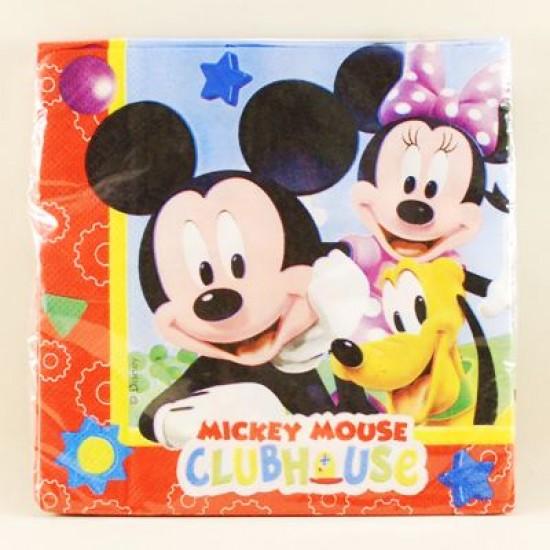 Mickey Mouse Temalı Orjinal Lisanslı Peçete